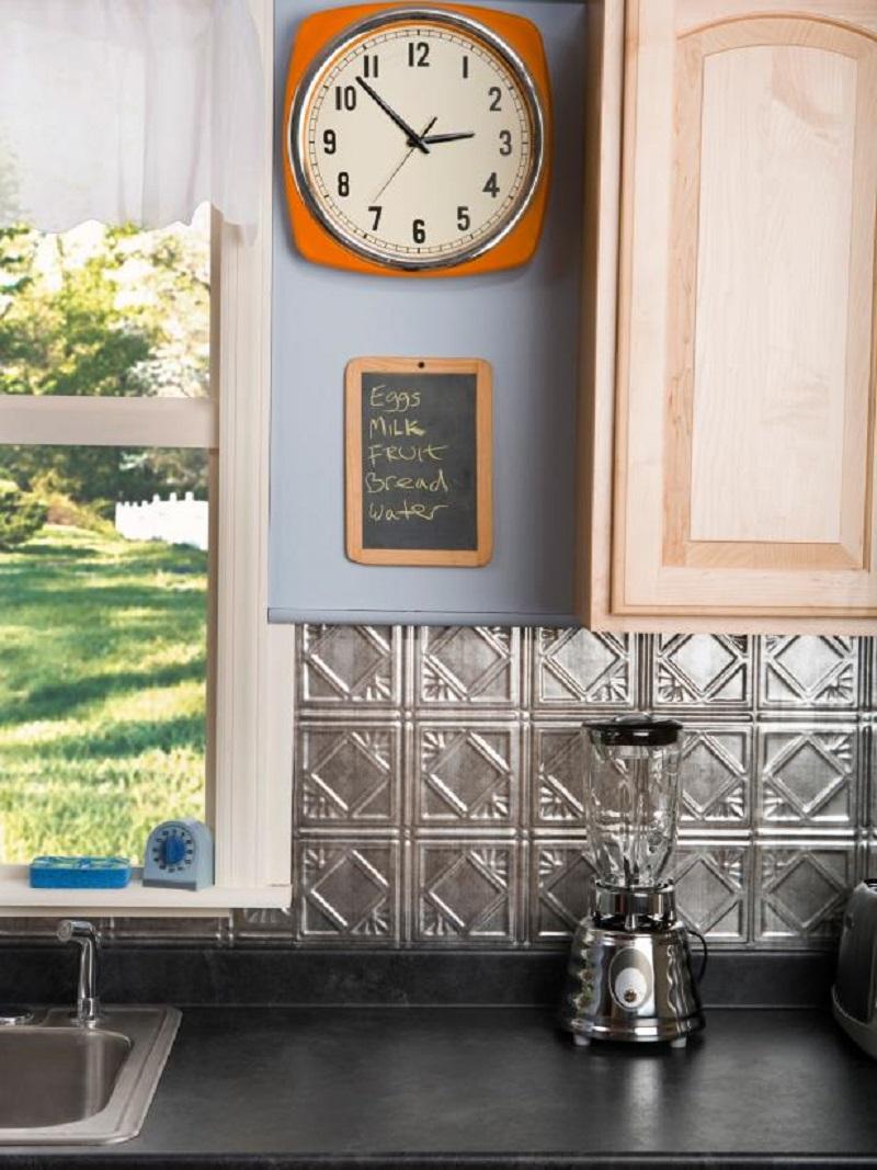 Get tin-tile backsplash