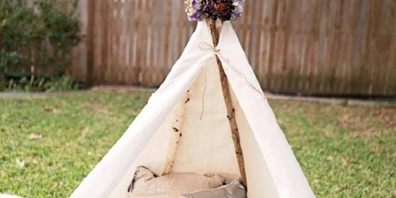 DIY Wild Teepee Ideas That You And Your Kids Feel So Funny To Stay