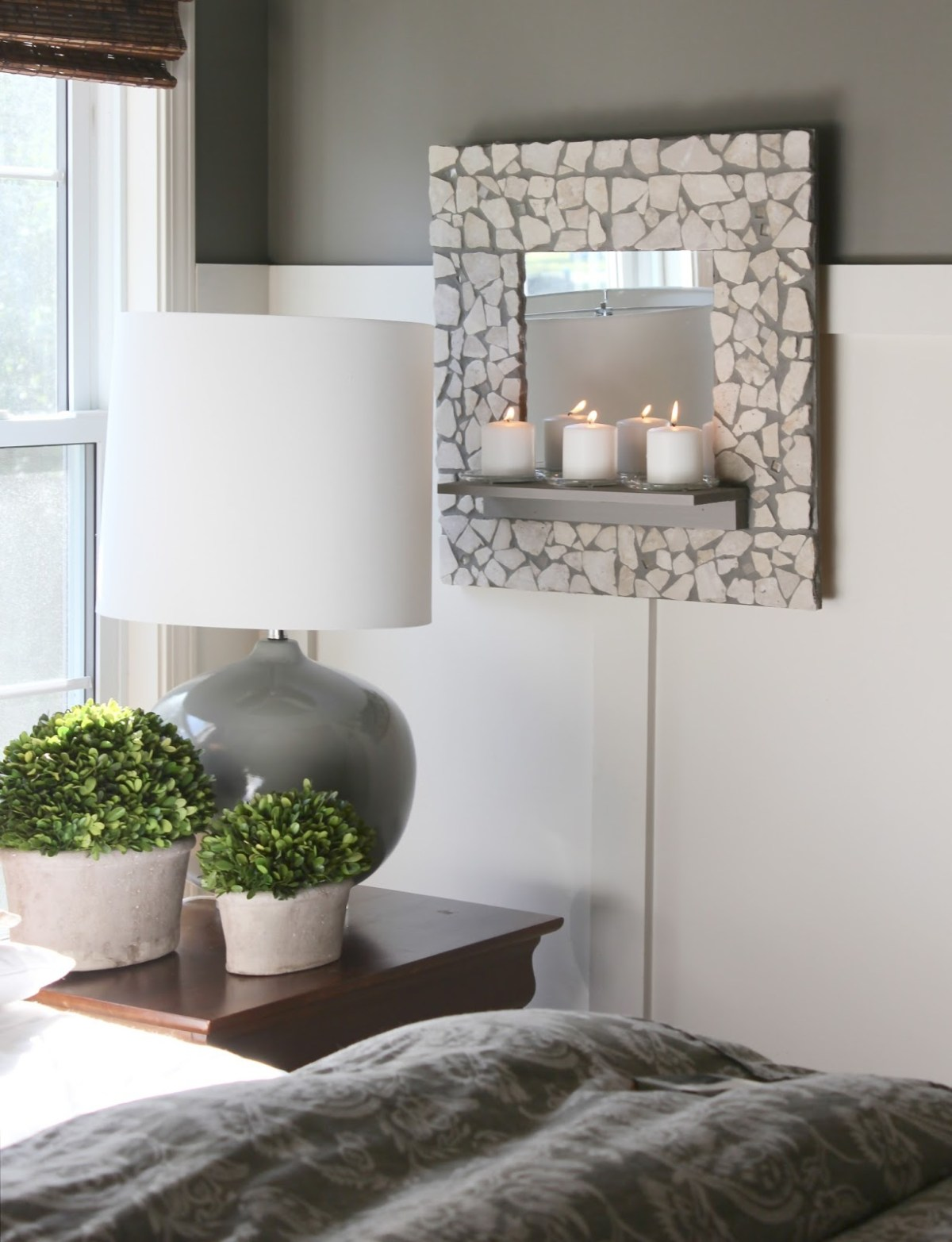 Mosaic shelf mirror Most-Wanted Mosaic Projects Where Any One Want To Try At Home