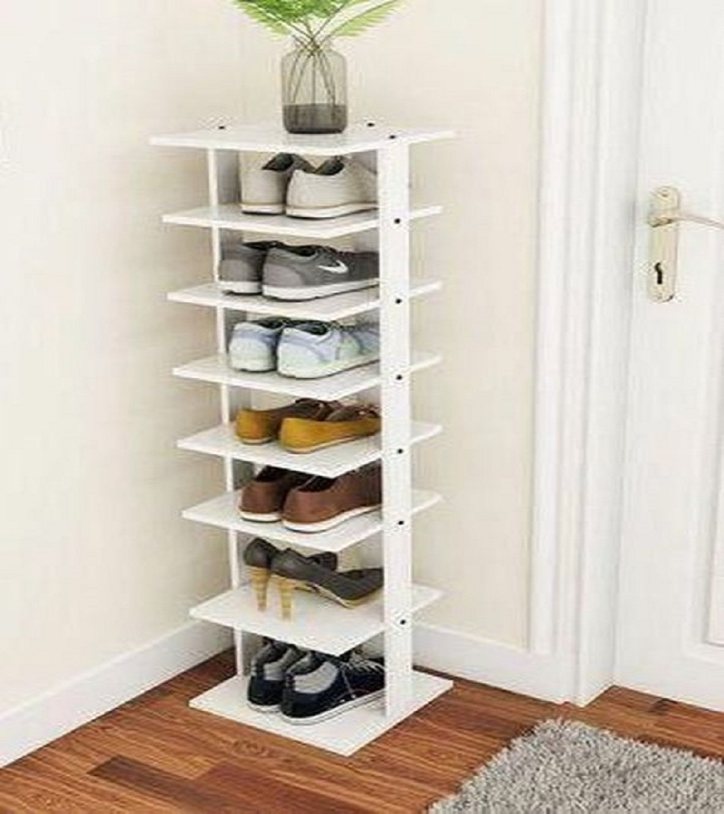 Space-saving shoe rack DIY Shoe Rack Ideas That Perfect For Your Family To Have Easy Shoes Hunting