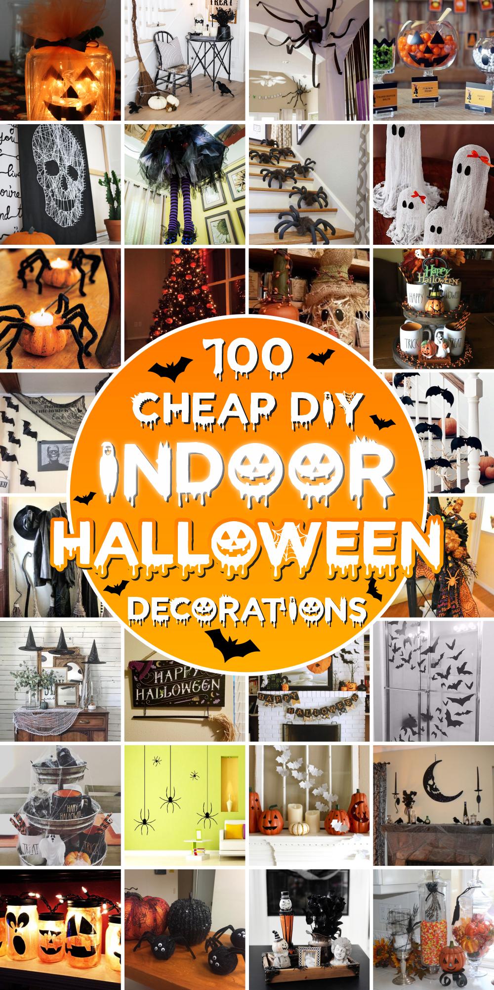 20 Cheap DIY Indoor Halloween Decorations   GODIYGO.COM
