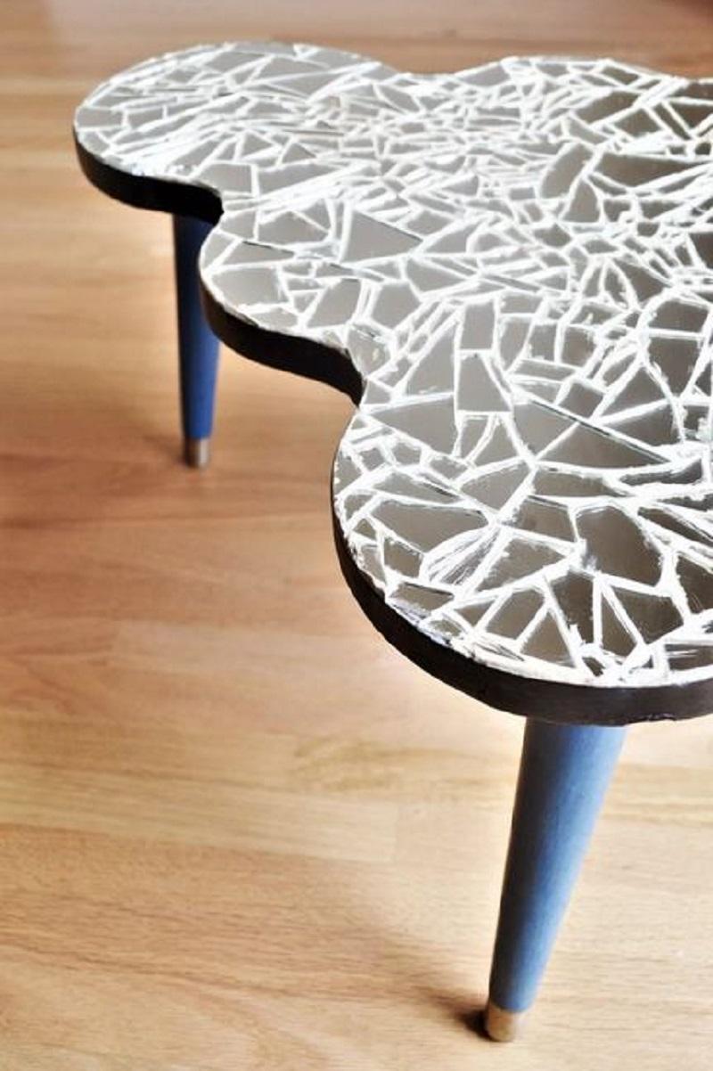 Amazing mosaic coffee table