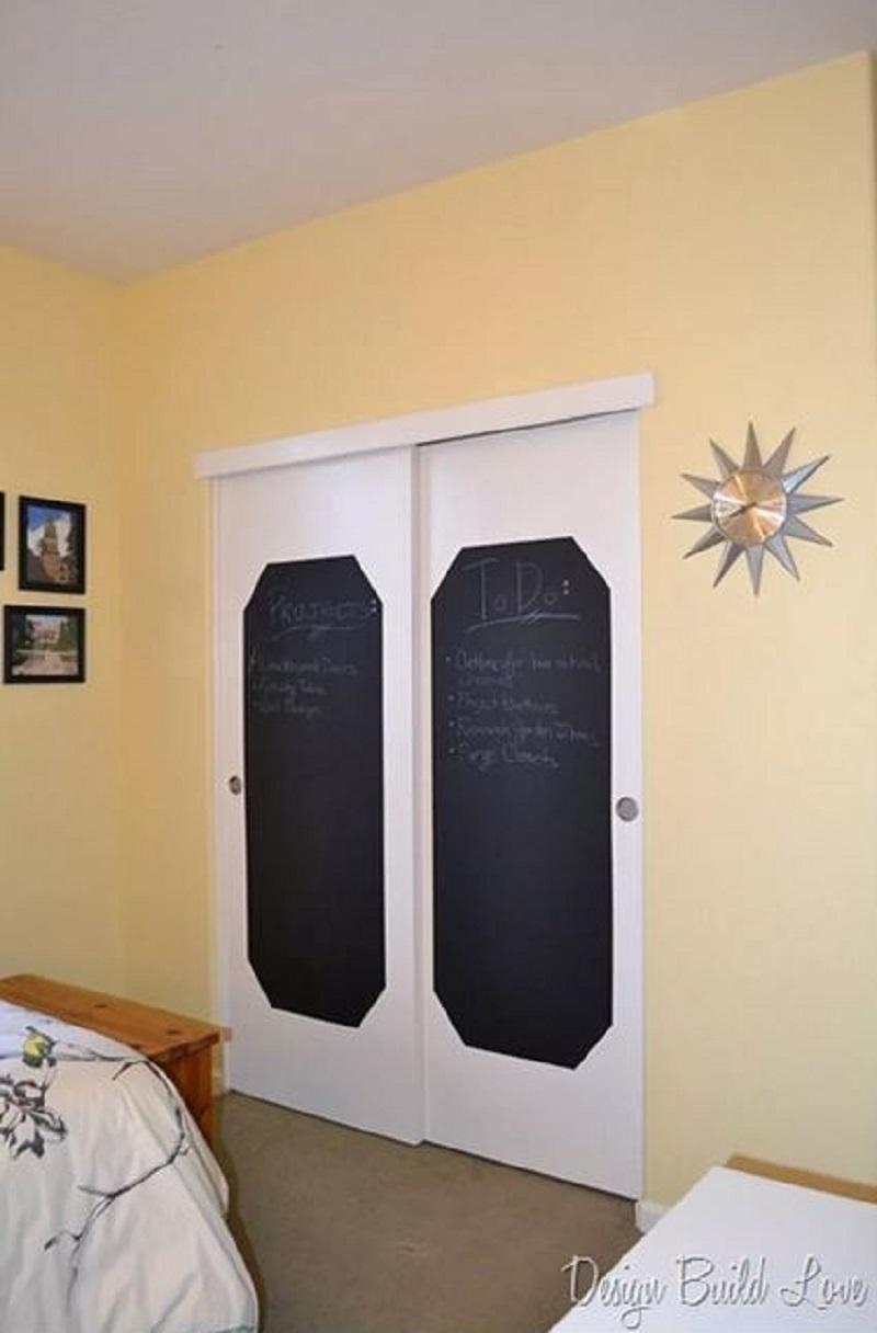 Apply chalkboard too