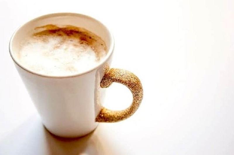 Beautiful glittery mug