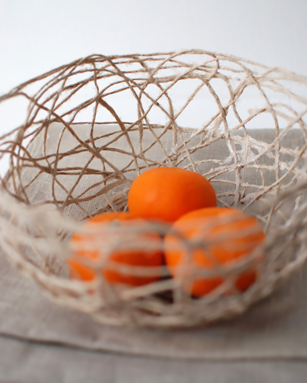 Diy string bowl DIY Bowls, Bins, And Baskets That Unexpectedly Gorgeous In Style And Tidy Up Your Space