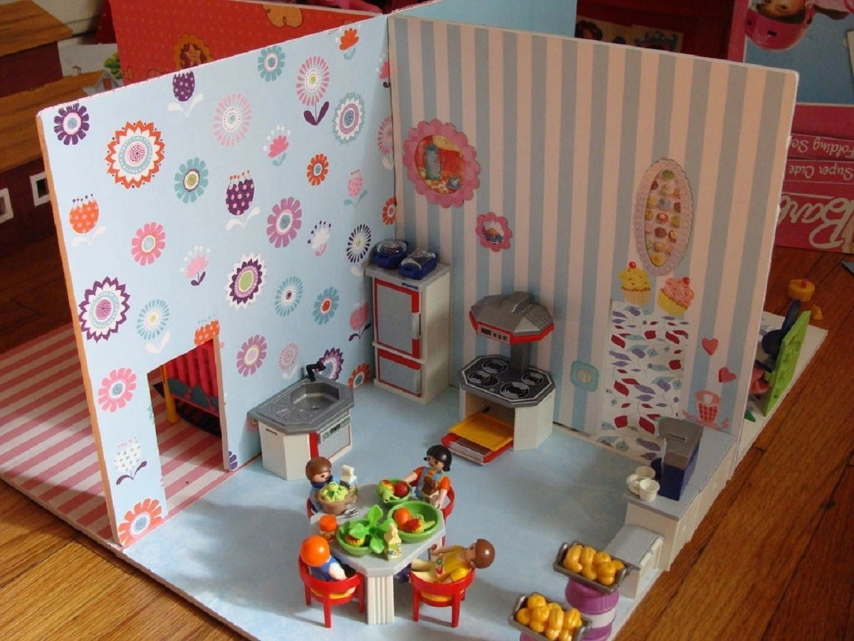Simple dollhouse Amusing DIY Dollhouse Projects Where Your Children Can Enjoy With Cherished Forever