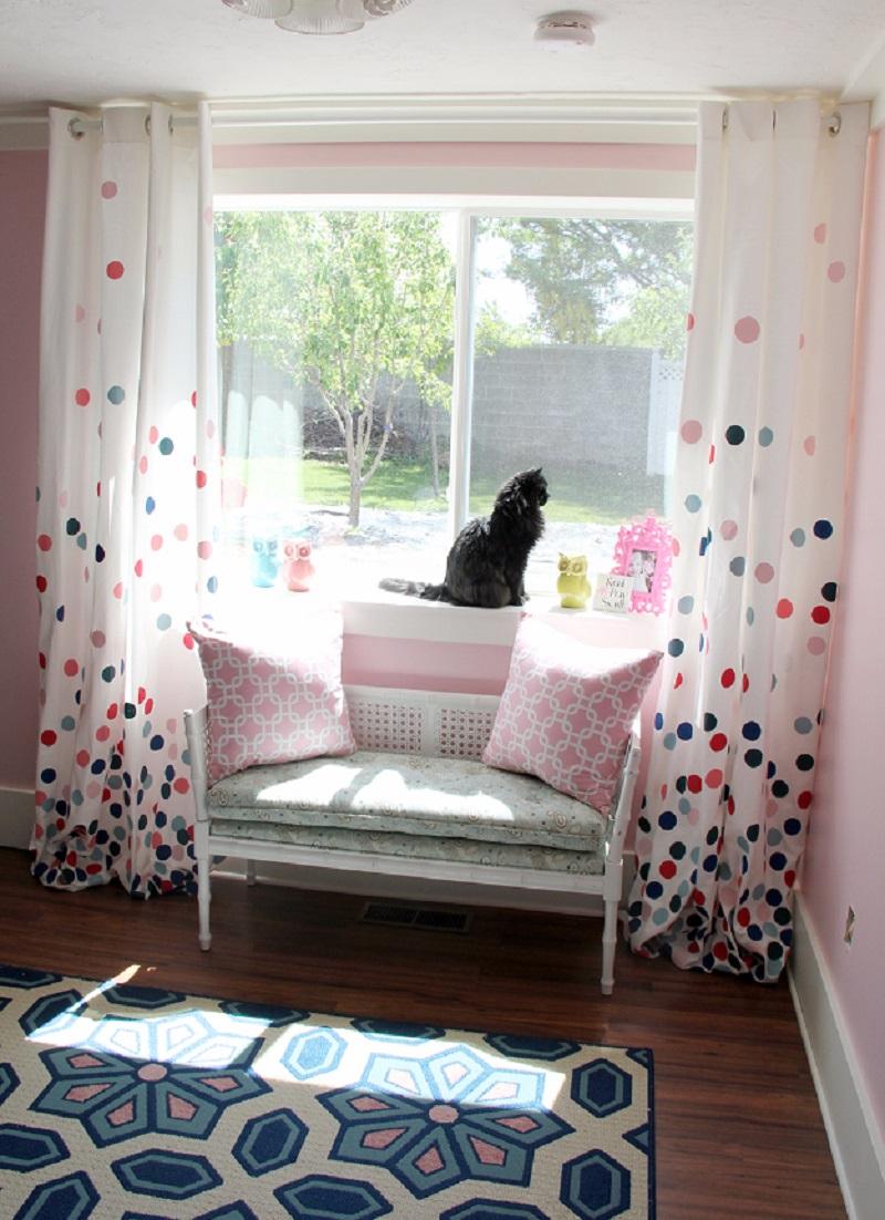 Cute confetti drapes