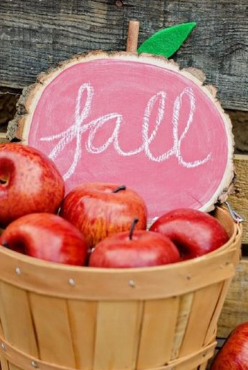 Diy apple fall