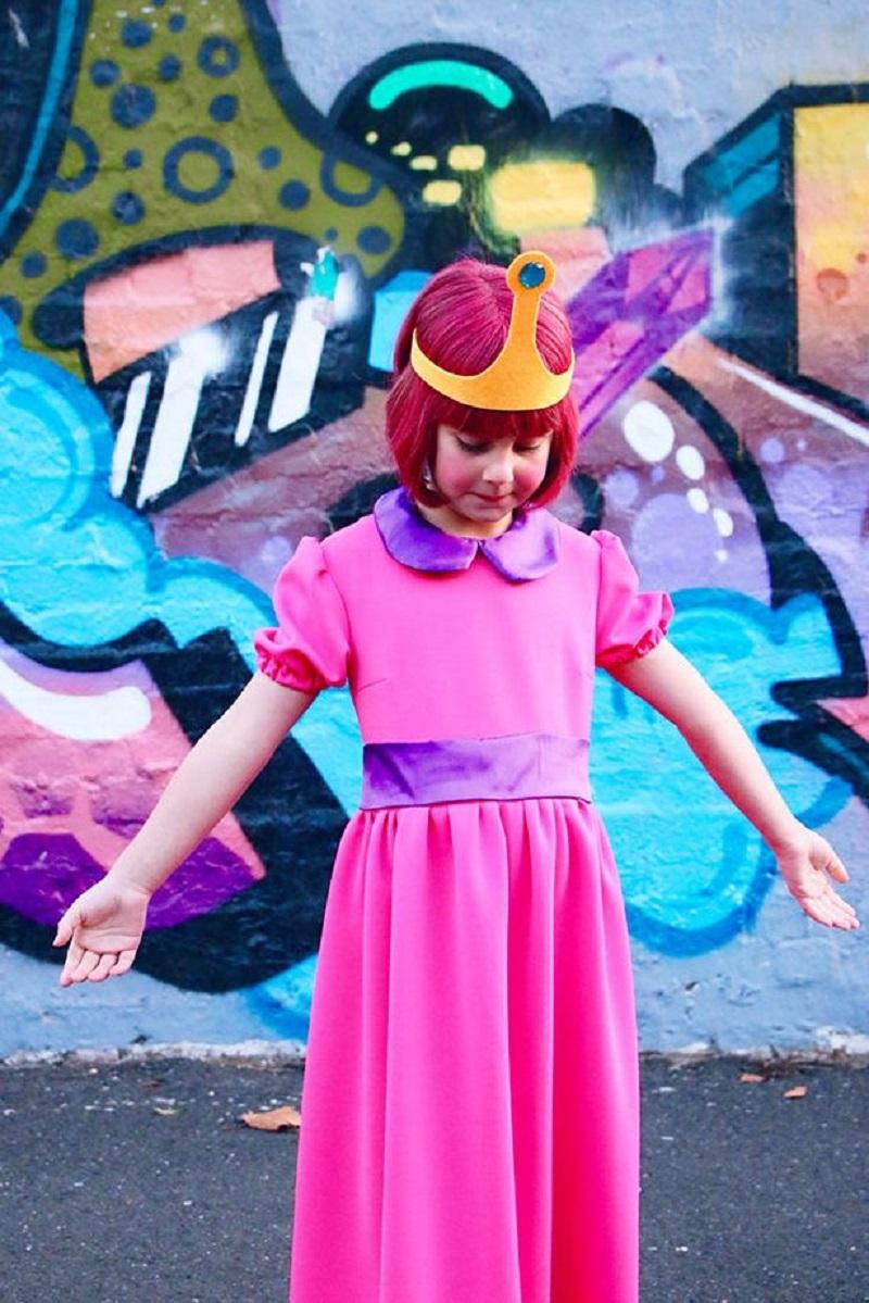 Diy princess bubblegum costume DIY Prettiest Princess Costume Ideas To Shine In Your Halloween Celebration