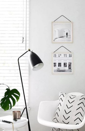 Diy super simple hanging frame