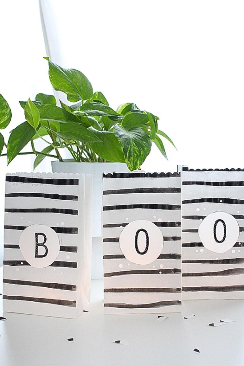 Diy waterproof paper lanterns