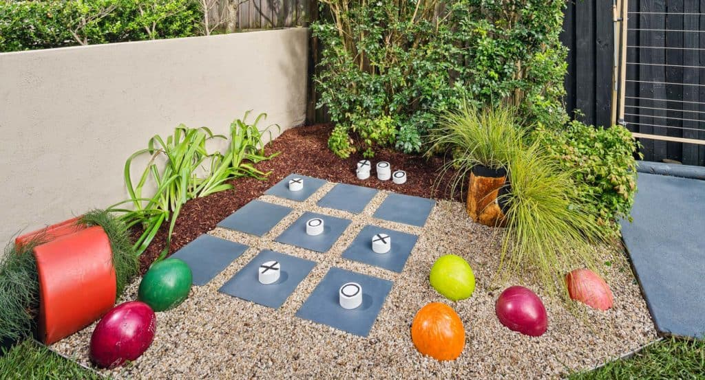 Garden noughts and crosses DIY Garden Ideas To Serve A Playhouse For Your Family Member
