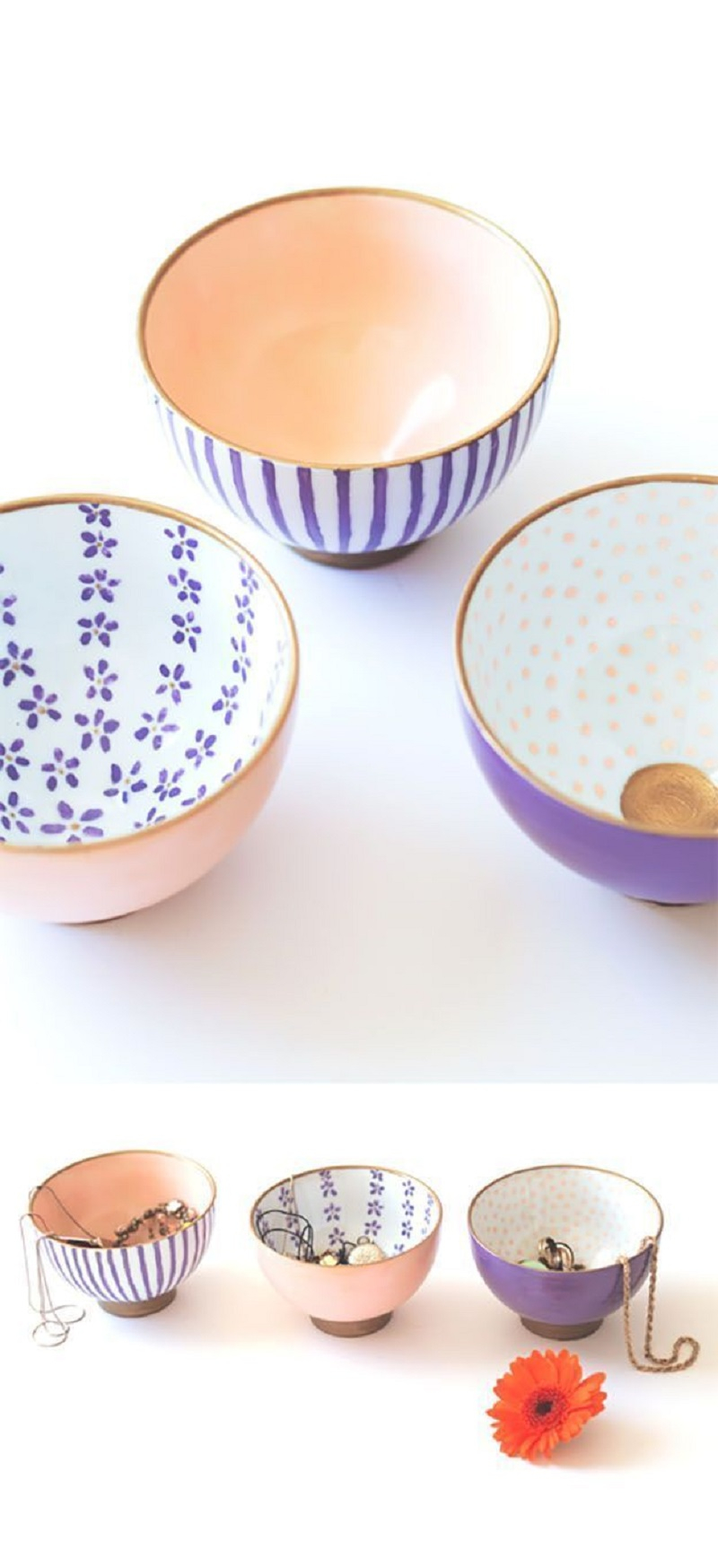 Japanese painted bowls Unforgettable DIY Gift Ideas You Can Create For Someone Close To You
