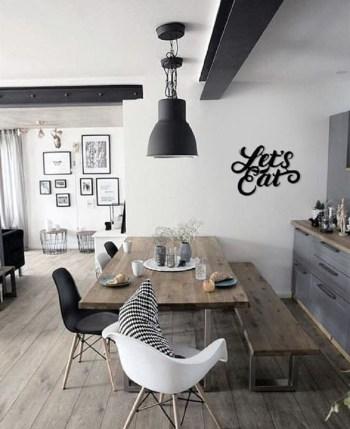 Graphite grey farmhouse kitchen