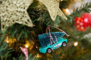 A classis die-cast car