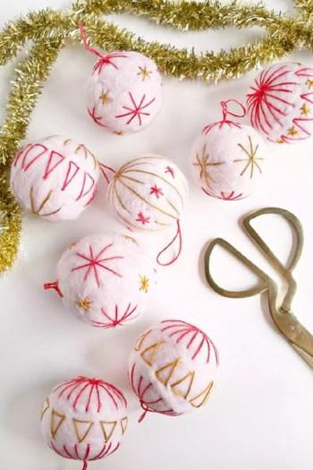 Creative embroidery ball
