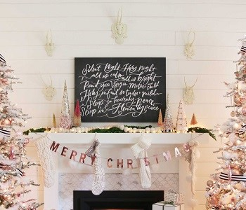 DIY Rose Gold Christmas Décor Projects To Bring Glam And Shine To Your Holidays