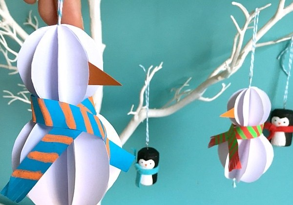 Bewitching Winter Paper Craft Ideas To Let Your Home Full Of Christmas Joy