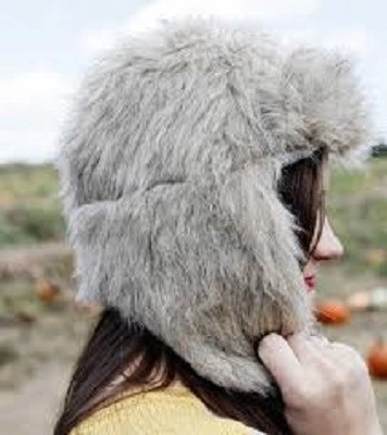 Faux fur trapper hat DIY Stylish Clothes And Accessories To Warm You Up This Winter