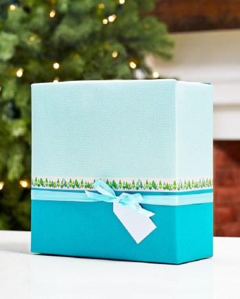 Super stylish diy color block gift