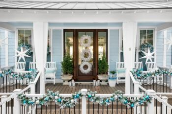 Wonderful sun-bleached wreaths