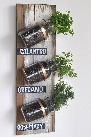 Angled herb garden Pleasant Indoor Garden Ideas To Cure The Winter Blues This Season