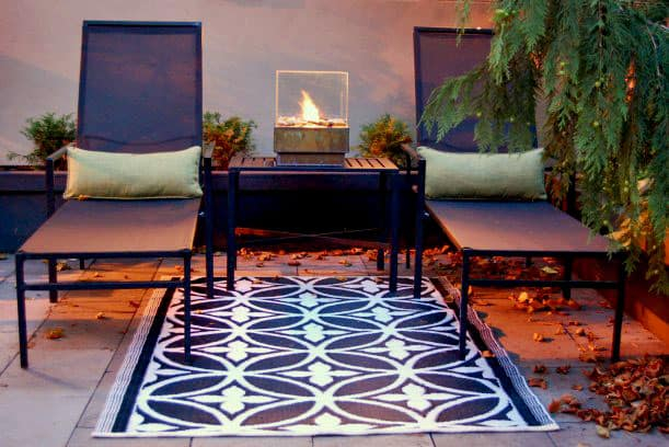 Cheap personal fire pit DIY Simple And Warm DIY Mini Tabletop Fire Pit That Perfect For Small Spaces
