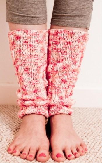 Diy leg warmers for yoga