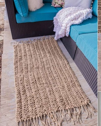 Jute rug from dollar store twine DIY Easy To Copy Plus Low Budget Rug Ideas To Warm You Up This Winter