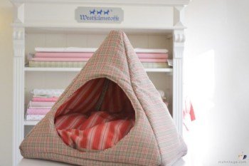 Cat tent to add privacy