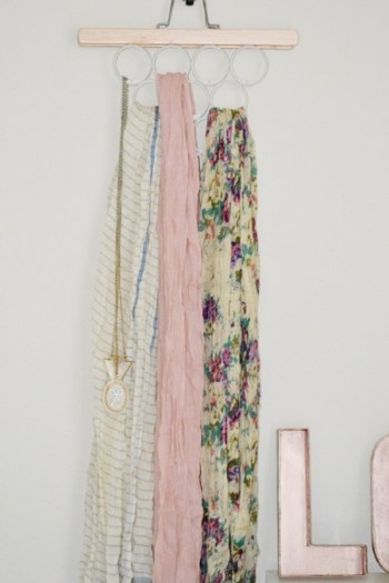 Pant hanger and shower curtain hooks