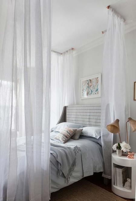 Awesome diy dreamy canopy bed project