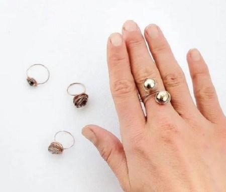 Beautiful ring diy