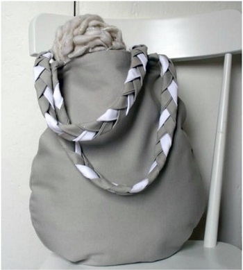 Braided handle tote bag DIY Tote Bags With Free Pattern For Your Wonderful Collection