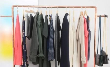 Diy copper clothes rack