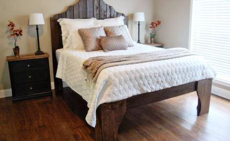 Diy elevated bedframe