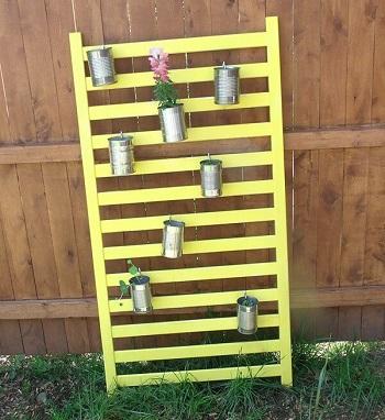 Diy vertical planter DIY Ideas Of Full Spirit Artworks To Have Energetic Garden
