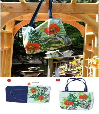 Easy-peasy reversible tote bag DIY Tote Bags With Free Pattern For Your Wonderful Collection