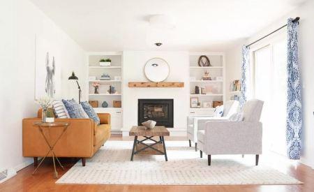 Lovely white bookcase