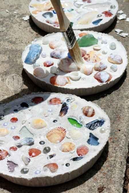 Mozaic seashells