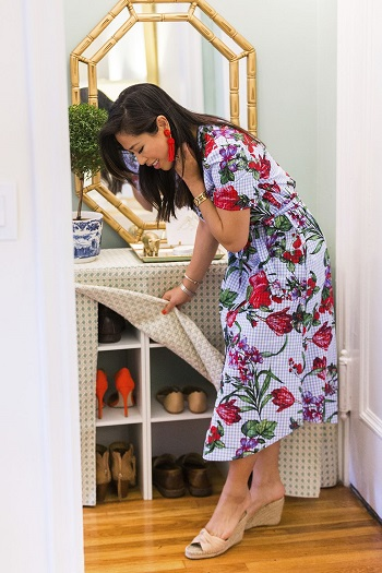 Secret shoe storage Beginner-Appropriate DIY Project To Refresh Your Home Decoration