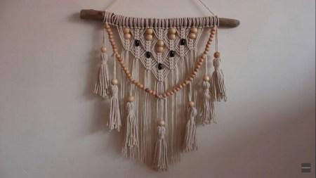 Boho tassel and beads