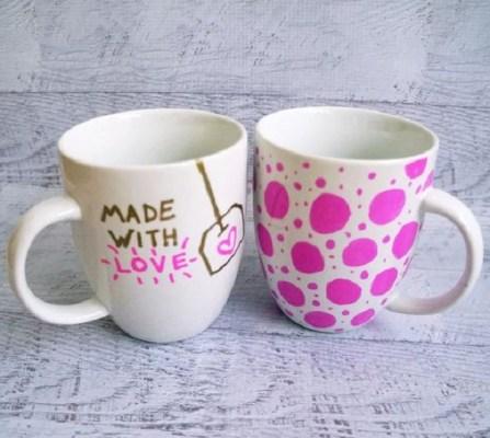 Diy cute mug