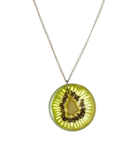 Diy fruit-filled resin pendant