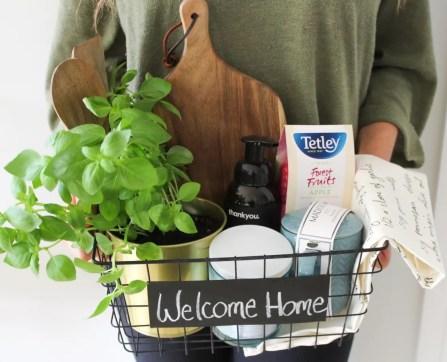 Housewarming basket gift