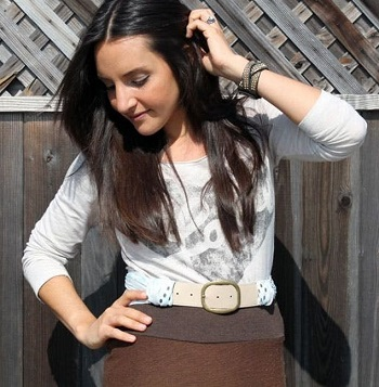 Scarf belt DIY Splendid Belt Ideas To Amaze Your Daily Outfit