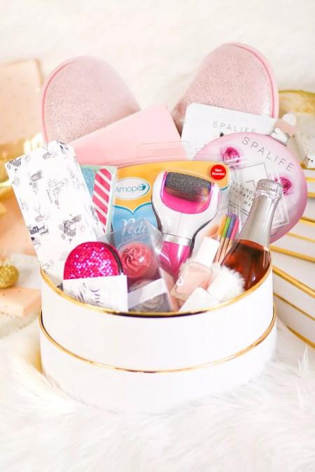 Selfcare unit basket gift