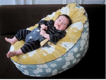 Babies bean bags DIY Bean Bag Chairs Ideas To Lay Down And Enjoy