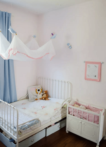 Cinderella bed canopy DIY Disney Nursery Theme Ideas To Have Most Magical Place At Home