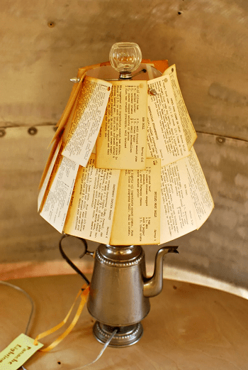 Coffee percolator lamp DIY Enchanting Ideas To Create More Light In Your Home